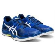 Asics Gel Tactic 2 Womens Court Shoes (Blue-White)