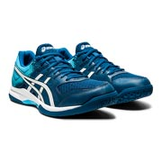 Asics Gel Rocket 9 Mens Court Shoes (Mako Blue-White)