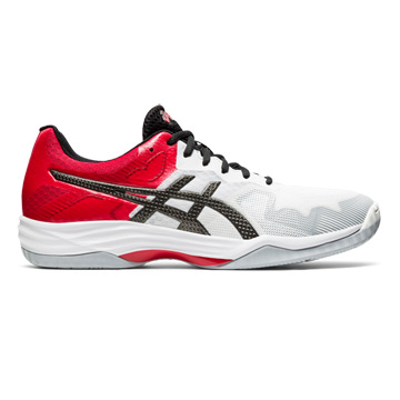 Asics Gel Tactic 2 Mens Court Shoes (White-Gunmetal)