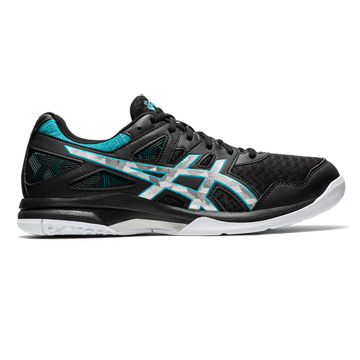 Asics Gel Task 2 Mens Court Shoes (Black-Lagoon)
