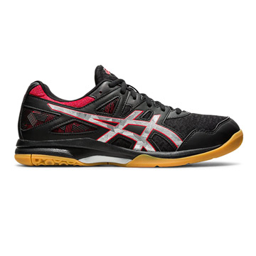 Asics Gel Task 2 Mens Court Shoes (Black-Classic Red)