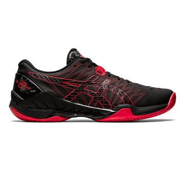 Asics Gel Blast FF Mens Court Shoes (Black-Classic Red)