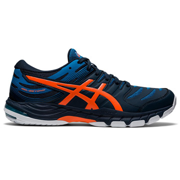 Asics Gel Beyond Mens Court Shoes (French Blue-Marigold Orange)