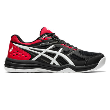 Asics Gel Upcourt 4 Mens Court Shoes (Black-White)