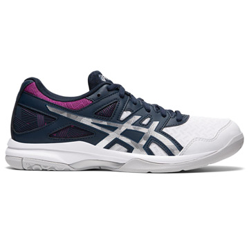 Asics Gel Task Womens Court Shoes (French Blue-Digital Grape)