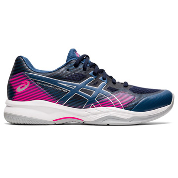 Asics Gel Hunter Womens Court Shoes (Midnight-Grand Shark)