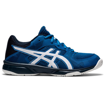 Asics Gel Tactic GS Junior Court Shoe (Reborn Blue-White)