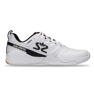 Salming Kobra 3 Mens Court Shoes (White-Black)