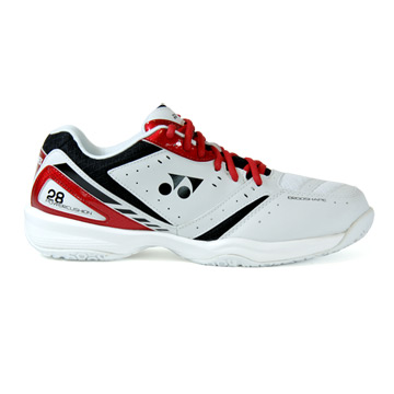 Yonex Power Cushion 28 Badminton Shoes (Red)