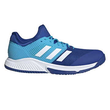 Adidas Court Team Bounce Indoor Court Shoes (Blue)